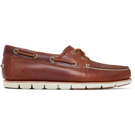 Timberland Tidelands 2-Eye Boat Shoes Men medium brown full grain